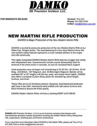 DAMKO_Modern_Martini_Press_Release
