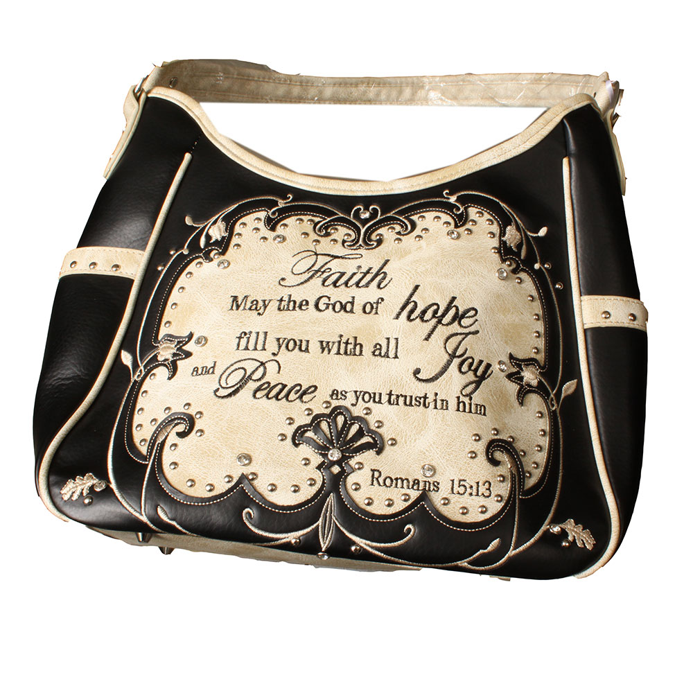Concealed Carry Crossbody Handbag G979W115-Faith_BK